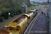 Autoballaster Train at Roscrea. Fri 04.03.16