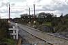 View from Ashbury Level Crossing looking towards Roscrea. Fri 04.03.16