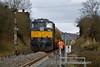 076 shut down at the rear of the train. Ashbury Level Crossing. Fri 04.03.16