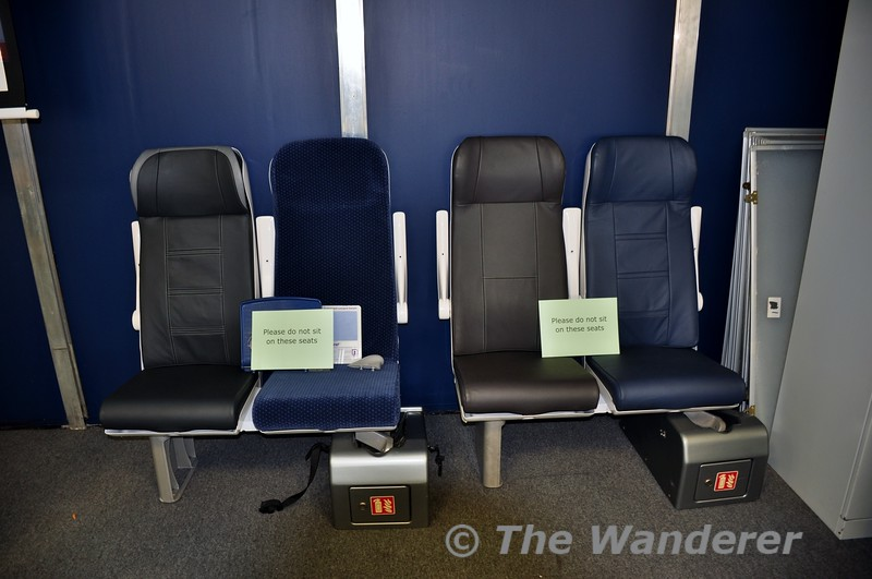Proposed new ICR seat styles. Wed 30.11.16