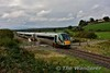 22014 crosses Stagmount Crossing with the 1115 Tralee - Mallow. Sat 08.10.16