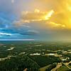 sky and clouds sunset landscape over york south carolina