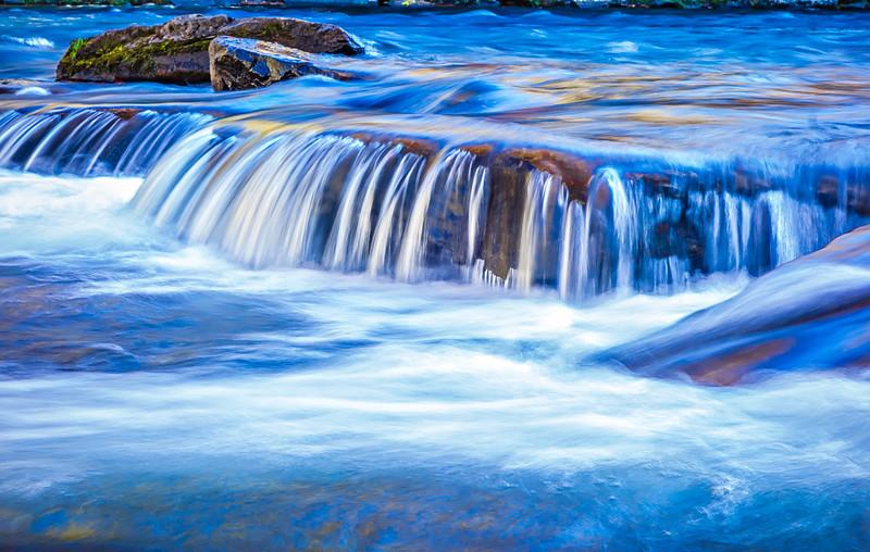 mountain river creek stream