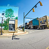 downtown streets in cherryville north carolina