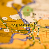 memphis tn area map photo