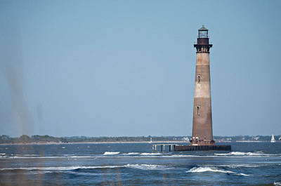 morris island lighthouse near folly beach sc
