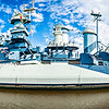 USS North Carolina panorama