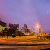 Downtown Charlotte North Carolina USA at Sunrise