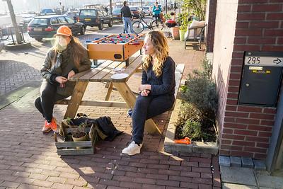 Amsterdam, Oostelijk Havengebied, 1 januari 2016, foto: Katrien Mulder