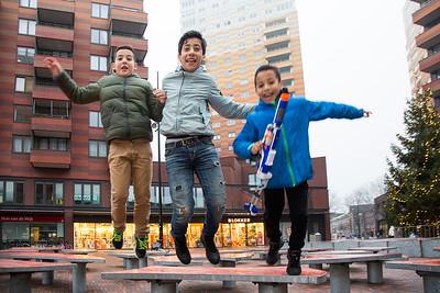 Amsterdam Noord, waterlandplein; 4 januari 2016, foto: Katrien Mulder