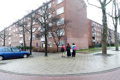 Amsterdam Nieuwendam, 11 januari 2016, foto: Katrien Mulder