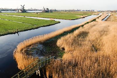 Zaandam, omgeving Zaanse Schans, 18 januari 2016, foto: Katrien Mulder