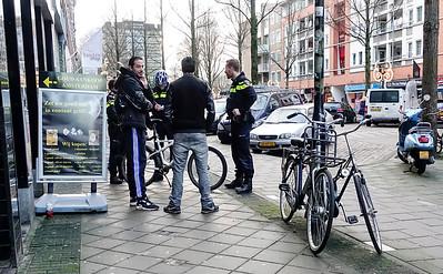 Amsterdam Oost, 20 januari 2016, foto: Katrien Mulder