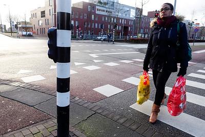 Amsterdam, IJburg, 23 januari 2016, foto: Katrien Mulder