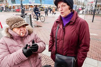 Amsterdam Dappermarkt, 15 februari 2016, foto: Katrien Mulder