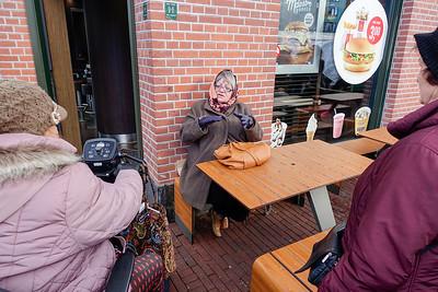Amsterdam Noord Buikslotermeerplein, 15 februari 2016, foto: Katrien Mulder
