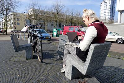 Amsterdam, Cruquiusweg, 14 maart 2016, foto: Katrien Mulder