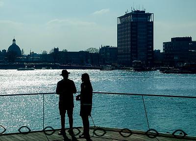 Amsterdam Noord, omgeving EYE, 16 maart 2016, foto: Katrien Mulder