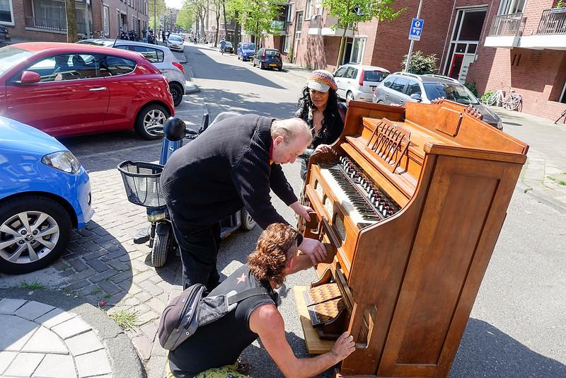 Amsterdam Oost, Indische buurt, 6 mei 2016, foto: Katrien Mulder