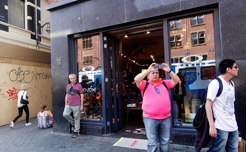 Amsterdam, Rokin, 7 mei 2016, foto: Katrien Mulder