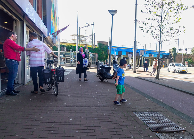Amsterdam, Insulindeweg, , 9 mei 2016, foto: Katrien mulder