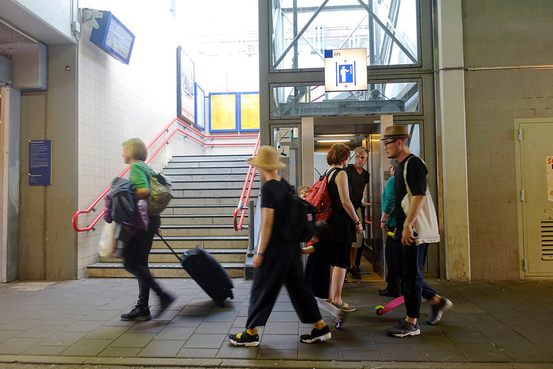 Amsterdam, station Muiderpoort,  9 mei 2016, foto: Katrien mulder