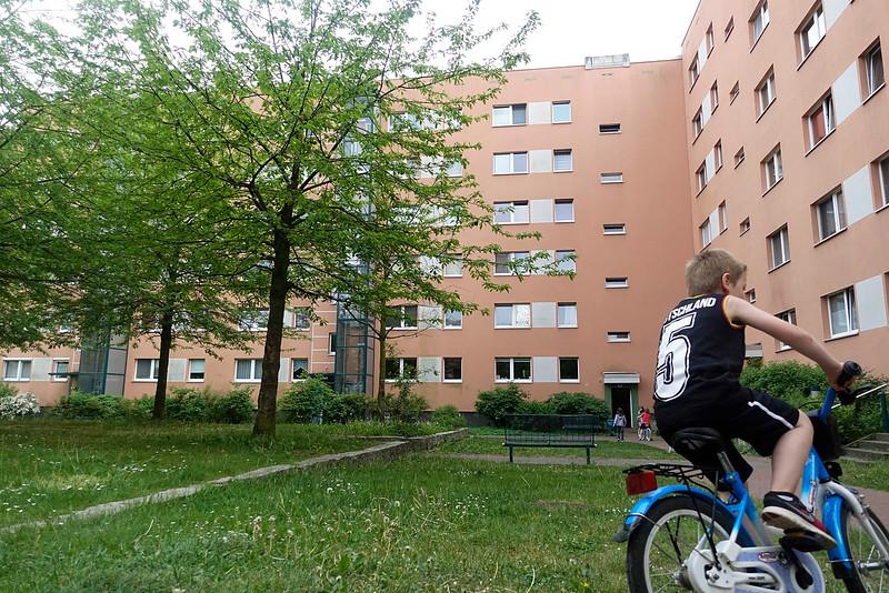 Berlijn, Hellesdorf, 20 mei 2016, foto: Katrien Mulder