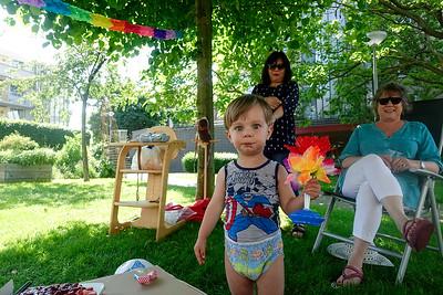 Amsterdam, verjaardag Midas, 2 jaar, foto: Katrien Mulder
