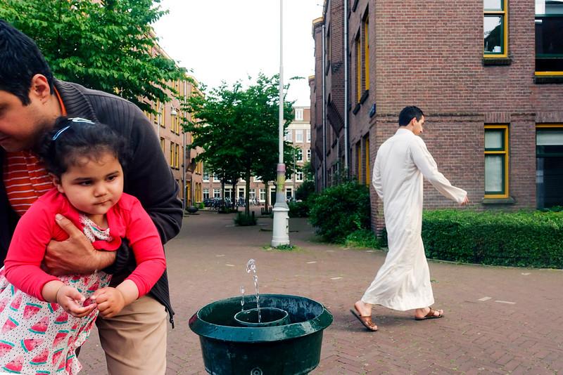 Amsterdam Oost, 10 juni 2016, foto: Katrien Mulder