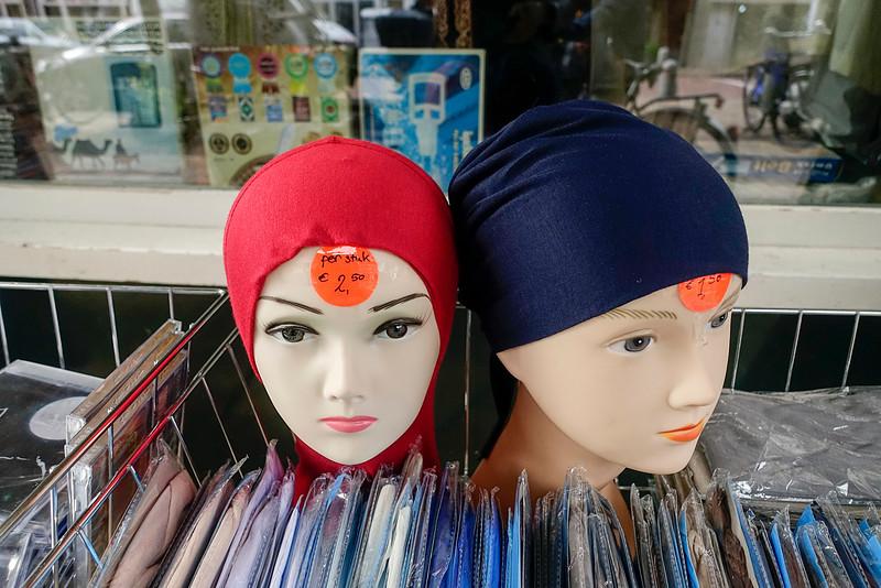 The Netherlands; Amsterdam, 22 juni 2016, winkel voor islamitische kleding, foto: Katrien Mulder