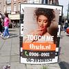 The Netherlands; Amsterdam, 22 juni 2016, reclame voor telefoonsex; phonesex, foto: Katrien Mulder