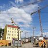 BRD, Berlin, 29 juni 2016, bouwplaats, construction site, foto: Katrien bouwplaat, c