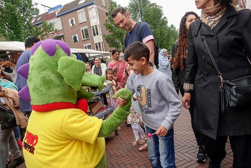 Nederland, Amsterdam, Dappermarkt;