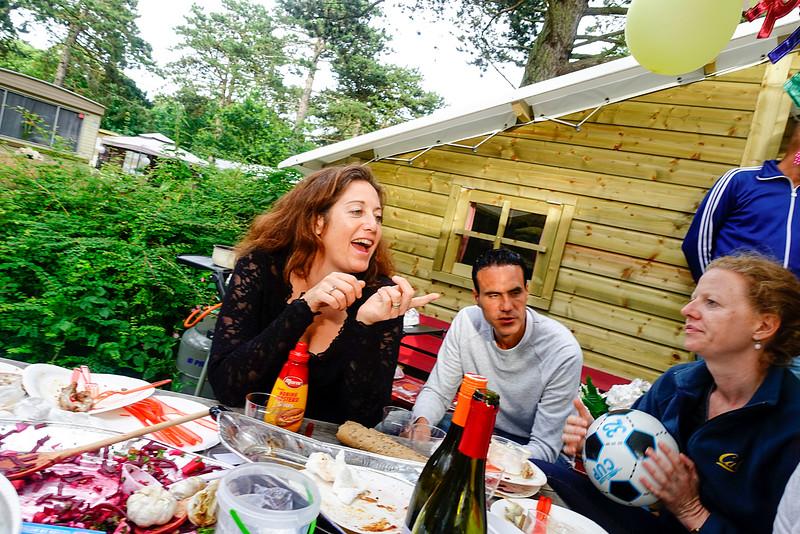 Nederland, Bakkum;  op de camping, 9 juli 2016, foto: katrien mulder