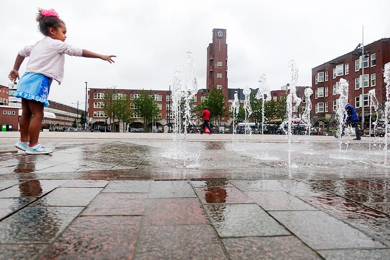 Nederland, Amsterdam, 16 juli 2016, Mercatorplein, Amsterdam West, foto: Katrien Mulder