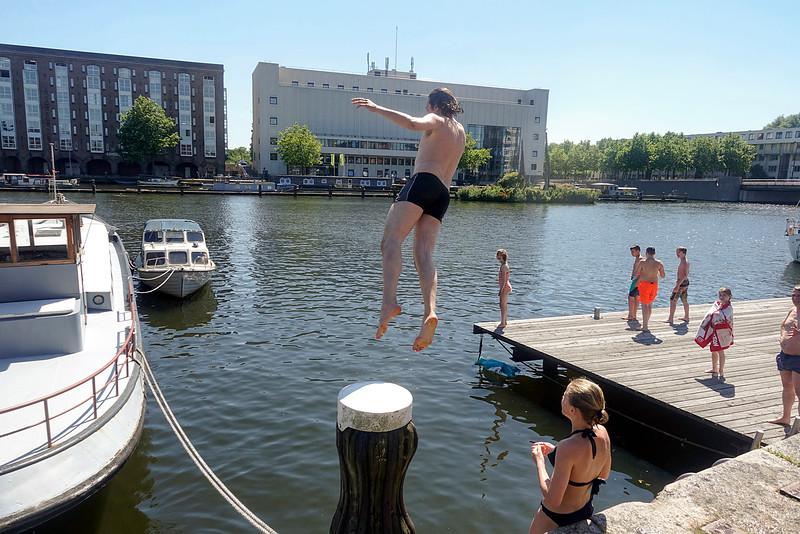 nederland. Amsterdam, Amsterdam Oost, Oostelijk Havengebied, 18 juli 2016, foto: Katrien Mulder