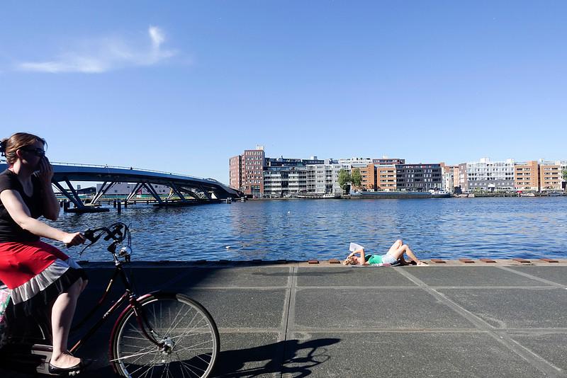 nederland. Amsterdam, Amsterdam Oost, Oostelijk Havengebied, 18 juli 2016, foto: Katrien Muulder