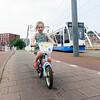 Nederland, Amsterdam, fietsen!! 22 juli 2016, foto: Katrien Mulder