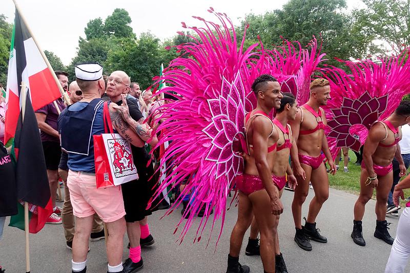Nederland, Amsterdam,roze zaterdag, Vondelpark,  Pride Walk, 23 juli 2016, foto: Katrien Mulder