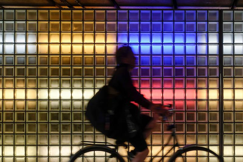 Nederland, Amsterdam, ijtunnel, 28 juli 2016, foto: Katrien Mulder
