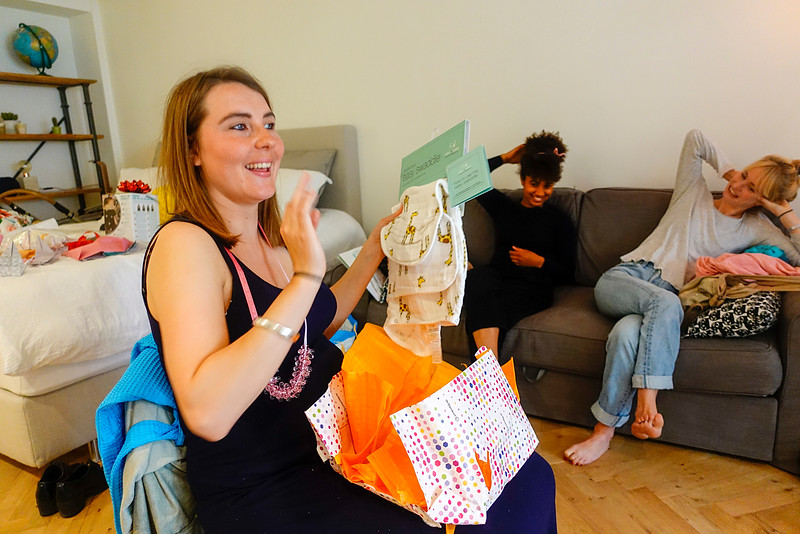 Nederland, Amsterdam,  babyshower van Noor 14 augustus 2016,  , foto: Katrien Mulder