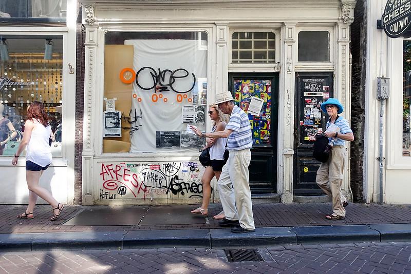 Nederland, Amsterdam, de negen straatjes, 24 augustus 2016, foto: Katrien Mulder