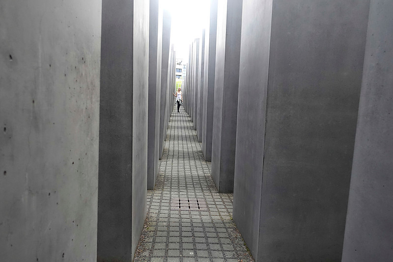 Germany; Berlin; 29 augustus 2016, Holocaust moswnument, foto: Katrien Mulder/Hollandse Hoogte