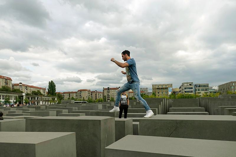 Germany; Berlin; 29 augustus 2016, Holocaust monument, foto: Katrien Mulder/Hollandse Hoogte