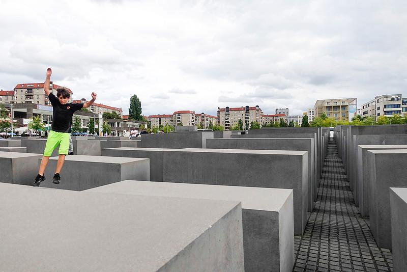 Germany; Berlin; 29 augustus 2016, Holocaust memorial, foto: Katrien Mulder/Hollandse Hoogte