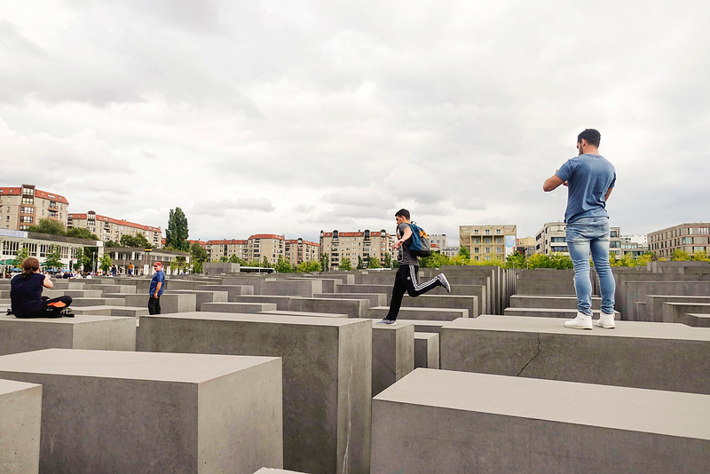 Germany; Berlin; 29 augustus 2016, Holocaust monument, foto: Katrien Mulder/Hollandse Hoogte
