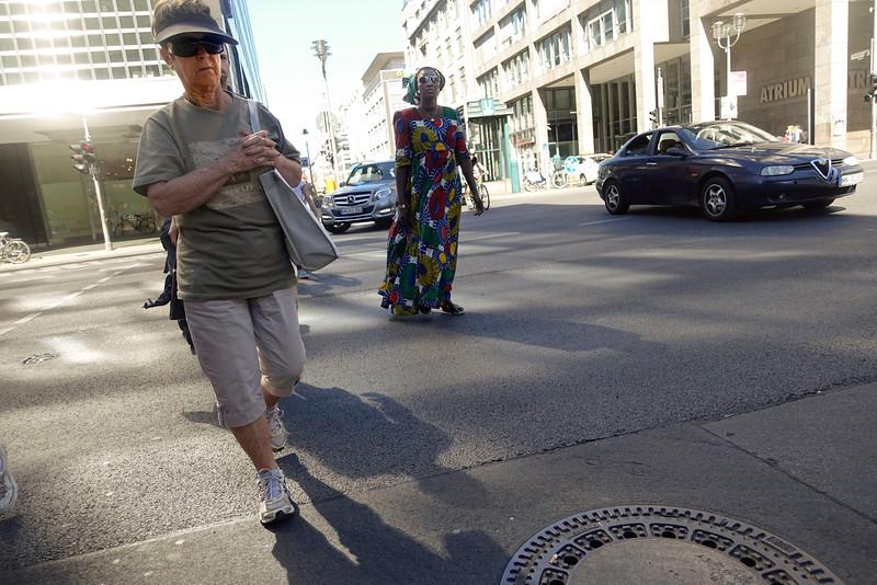 Duitsland, Berlijn, Friedrichstrasse, 31 augustus 2016, foto: Katrien Mulder