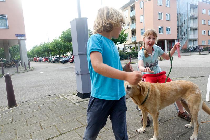 Nederland, Amsterdam, Janne en/of Ties en/of Sannen, foto: Katrien Mulder