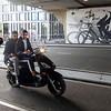 Nederland, Amsterdam,  21 september 2016, jongens op scooter,  foto: Katrien Mulder