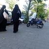Nederland, Amsterdam, Amsterdam Oost, 23 september 2016, islamitische vrouwen bij de salafistische Karamamoskee, foto: Katrien Mulder